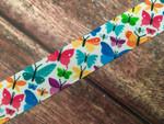 Botanical Butterflies 1 Inch Collar
