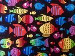 Custom Shaka Shield Bellyband - Rainbow Fish