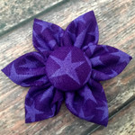 Purple Stars CollarFlower