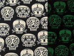 Custom Shaka Shield Bellyband - Sugar Skulls Glo