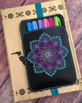 Planner Pocket Band - Mandala Black