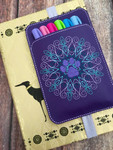Planner Pocket Band - PawMandala Purple
