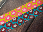 Hibiscus Delight 1 Inch Collar