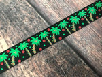 Tropical Christmas 1 Inch Collar
