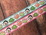 Sushi Rolls 1 Inch Collar