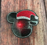 Collar Glam Flasher - Mickey Santa