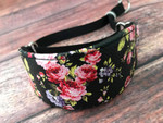 Hound Collar - Floral Bouquet Faux Leather