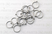 Stainless Steel Wire Sail rings for 11.1 mm mast