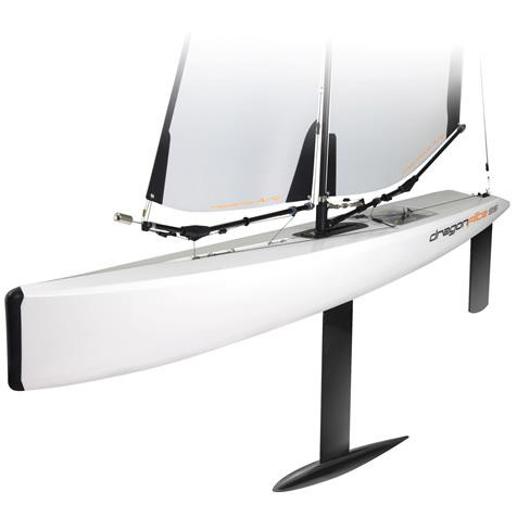 Joysway Dragon Flite DF95  Featuring ABS Hull Carbon Fiber Keel fin and Rudder Lead Bulb complete with A-rig and sails