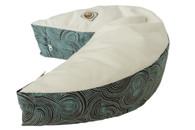 Organic Nesting Pillow Slipcover / Blue Truffles