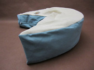Organic Nesting Pillow / My Blue Heaven