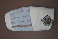 Organic Nesting Pillow Slipcover / To the Moon & Back