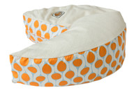 Organic Nesting Pillow Slipcover / Clementine