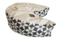 Organic Nesting Pillow Slipcover / Aspen