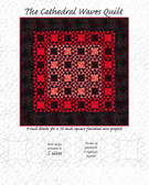 Cathedral Waves Kit (Pattern & Fabric - Pre-order & save 25%) AND SoftFuse