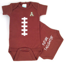 Appalachian State Mountaineers Future Tailgater Football Baby Onesie