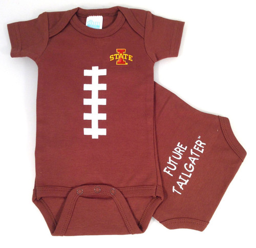 Iowa State Cyclones Future Tailgater Football Baby Onesie