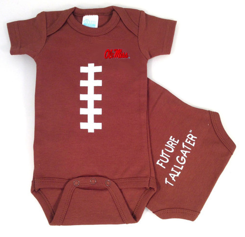 Mississippi Ole Miss Rebels Future Tailgater Football Baby Onesie