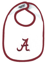 Alabama Crimson Tide 2 Ply Baby Bib
