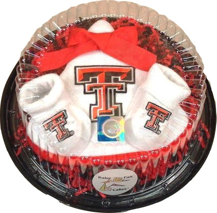 Texas Tech Red Raiders Piece of Cake Baby Gift Set