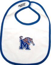 Memphis Tigers 2 Ply Baby Bib