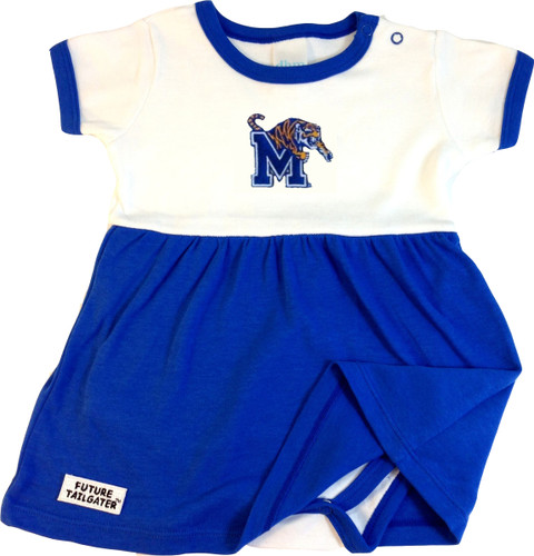 Memphis Tigers Baby Onesie Dress
