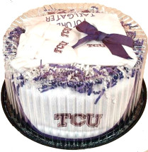 Texas Christian TCU Horned Frogs Baby Fan Cake Clothing Gift Set