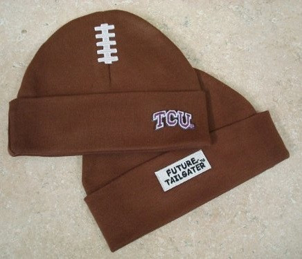 Texas Christian TCU Horned Frogs Baby Football Cap