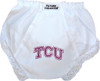 Texas Christian TCU Horned Frogs Eyelet Baby Diaper Cover