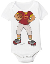 Iowa State Cyclones Heads Up! Football Baby Onesie