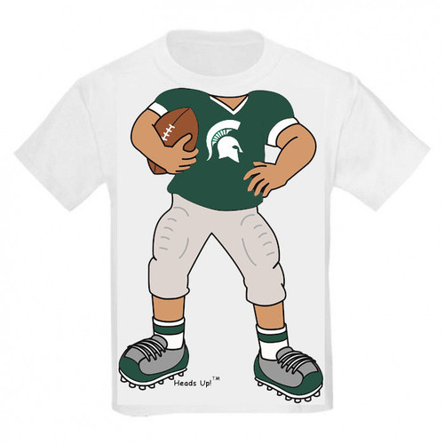 Michigan State Spartans Heads Up! Football Infant/Toddler T-Shirt