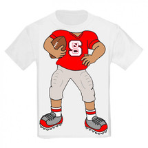 NC State Wolfpack Heads Up! Football Infant/Toddler T-Shirt