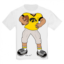 Iowa Hawkeyes Heads Up! Football Infant/Toddler T-Shirt