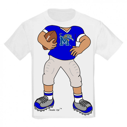 Memphis Tigers Heads Up! Football Infant/Toddler T-Shirt