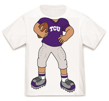 Texas Christian TCU Horned Frogs Heads Up! Football Infant/Toddler T-Shirt