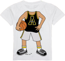 Appalachian State Mountaineers Heads Up! Basketball Infant/Toddler T-Shirt