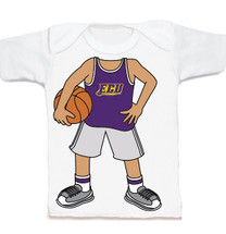 East Carolina Pirates Heads Up! Basketball Infant/Toddler T-Shirt