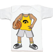 Iowa Hawkeyes Heads Up! Basketball Infant/Toddler T-Shirt