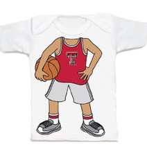 Texas Tech Red Raiders Heads Up! Basketball Infant/Toddler T-Shirt