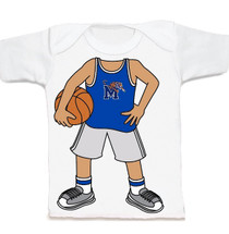 Memphis Tigers Heads Up! Basketball Infant/Toddler T-Shirt