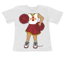 Iowa State Cyclones Heads Up! Cheerleader Infant/Toddler T-Shirt