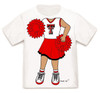 Texas Tech Red Raiders Heads Up! Cheerleader Infant/Toddler T-Shirt