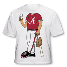 Alabama Crimson Tide Heads Up! Baseball Infant/Toddler T-Shirt