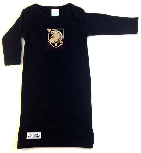 Army Black Knights Baby Layette Gown