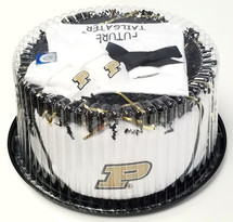 Purdue Boilermakers Baby Fan Cake Clothing Gift Set