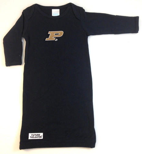 Purdue Boilermakers Baby Layette Gown