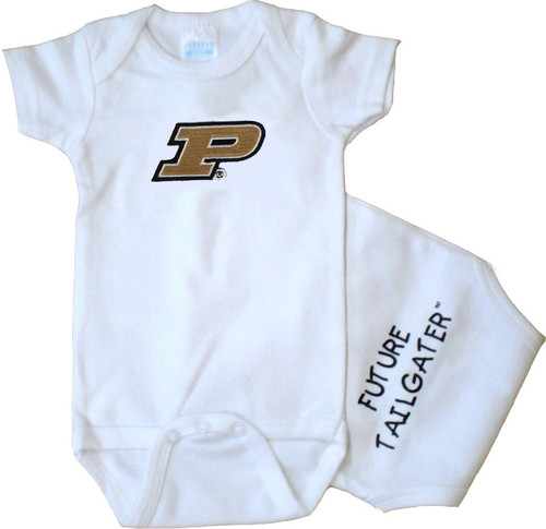Purdue Boilermakers Future Tailgater Baby Onesie