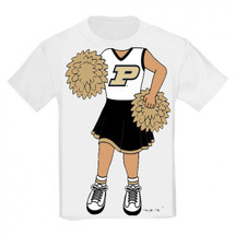 Purdue Boilermakers Heads Up! Cheerleader Infant/Toddler T-Shirt