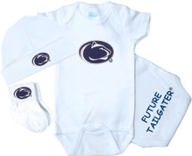 Penn State Nittany Lions Homecoming 3 Piece Baby Gift Set