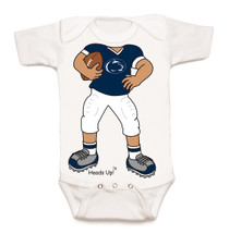 Penn State Nittany Lions Heads Up! Football Baby Onesie